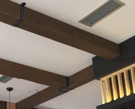 Travi in finto legno travi polistirolo finto legno soffitti finto