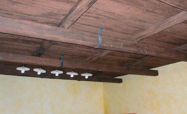 Soffitto legno pannelli finto legno controsoffitto finto legno