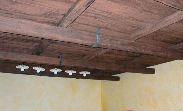 Soffitto In Legno Finto : Soffitto legno pannelli finto legno controsoffitto finto legno